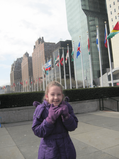 new york city-outside united nations headquarters