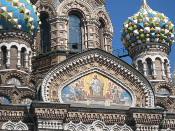 russia-st. petersburg-church of spilled blood