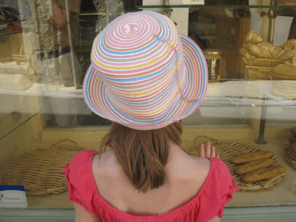 france-provence-menerbes-looking in window of bakery