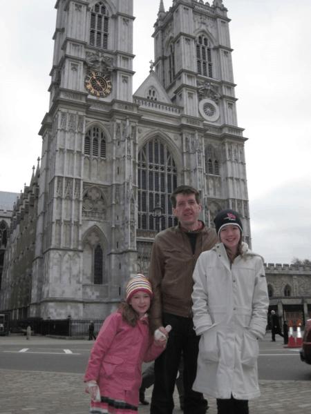 london-outside westminster abbey