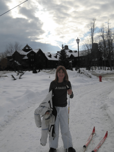 chateau montebello-cross country skiing