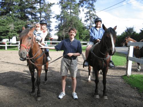 chateau montebello-horseback riding