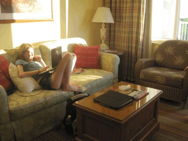 Rosseau Muskoka - Suite Living Room