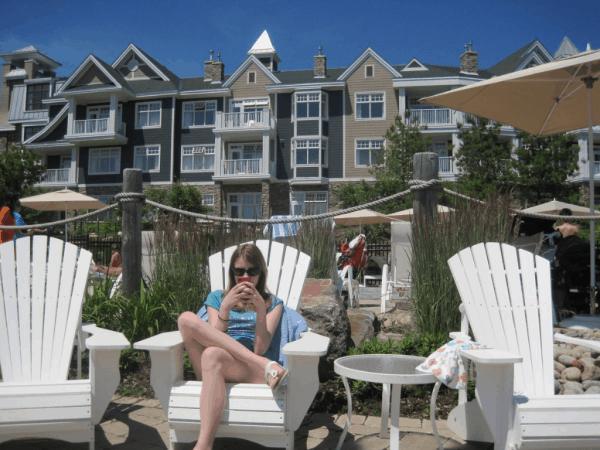 Relaxing at Rosseau Muskoka