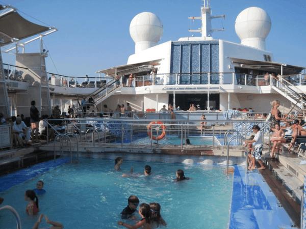 Pool on Celebrity Equinox