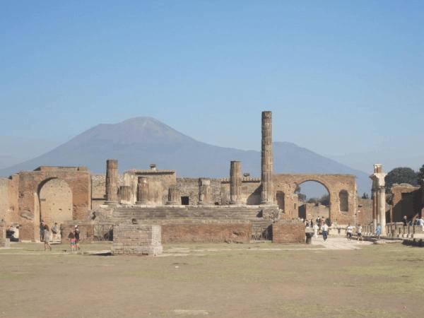 Italy-Ruins - Pompeii