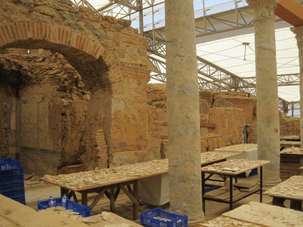 turkey-ephesus-restoration of Terrace Houses