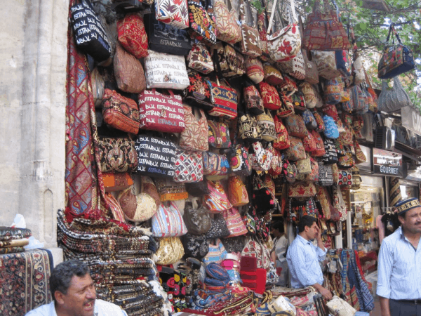 Handbags at Grand Bazaar, Istanbul