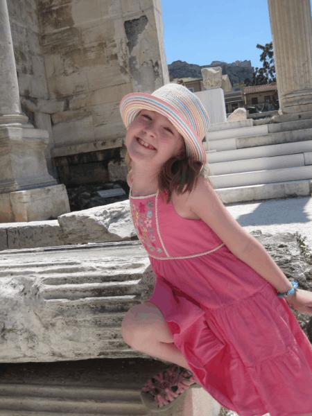 greece-athens-young girl