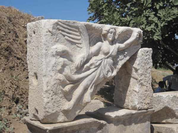 turkey-Goddess Nike at Ephesus