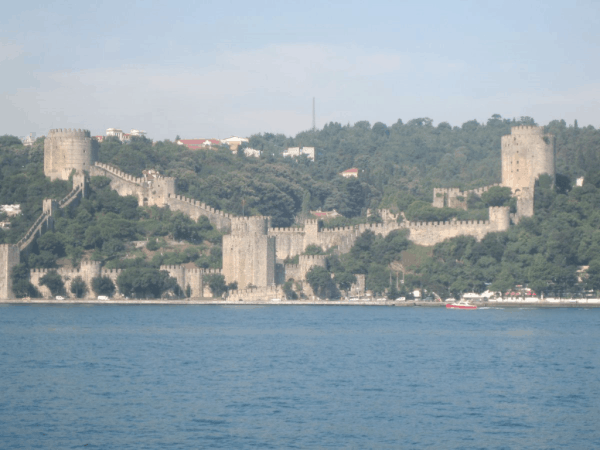 Istanbul-view from Bosphorus cruise