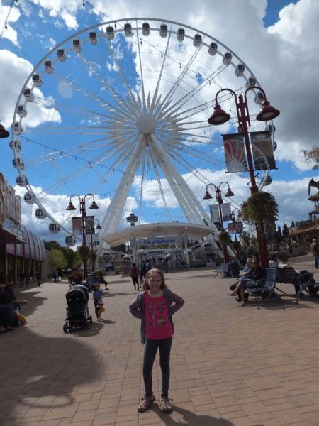 Emma at the Niagara SkyWheel
