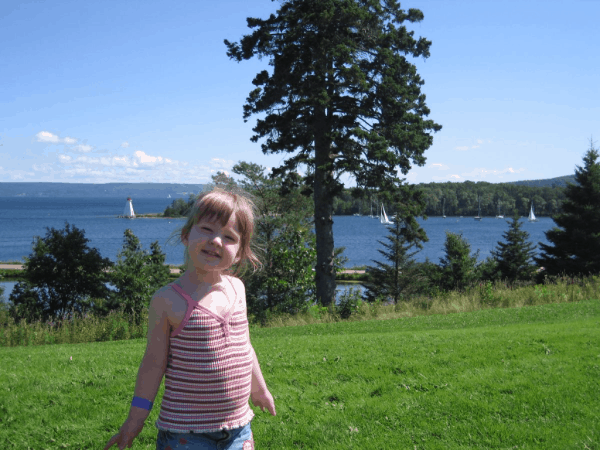 Nova Scotia-Cape Breton-Baddeck-Outside Alexander Graham Bell National Historic Site