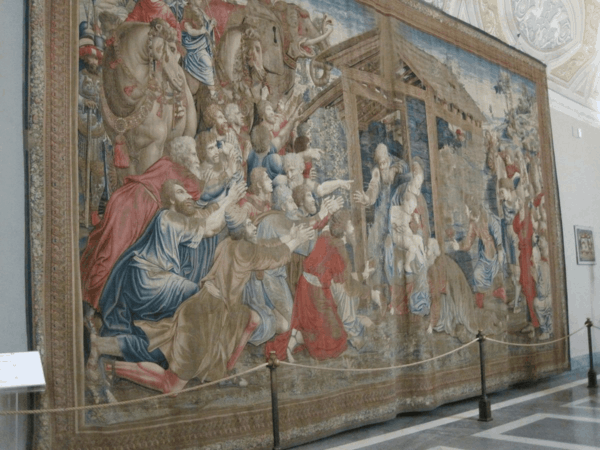 Tapestry at Vatican Museums