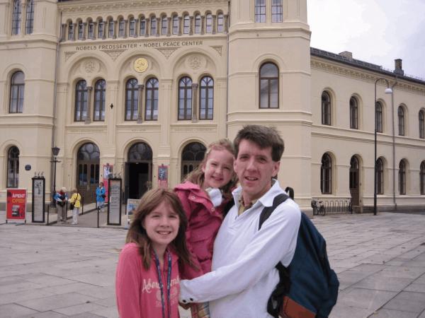 Nobel Peace Museum in Oslo, Norway