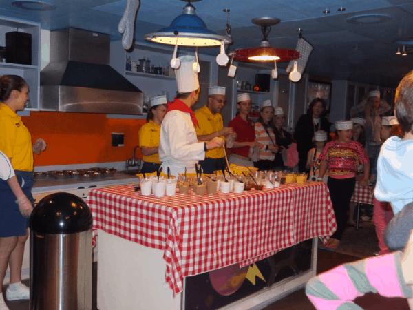 Making cookies in Disney's Oceaneer Lab