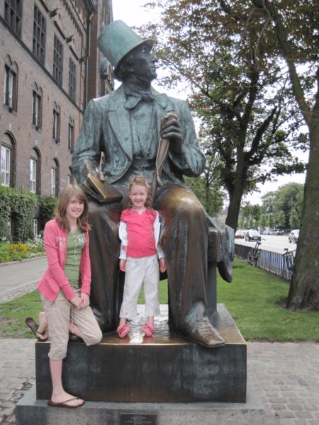 Hans Christian Andersen statue, Copenhagen