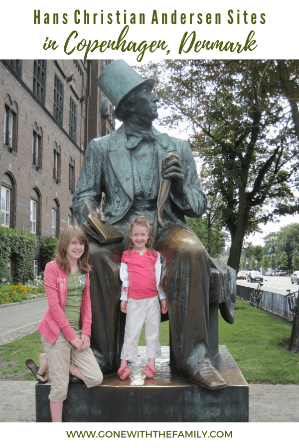 Visiting Hans Christian Andersen Sites in Copenhagen  Denmark - Gone with the Family