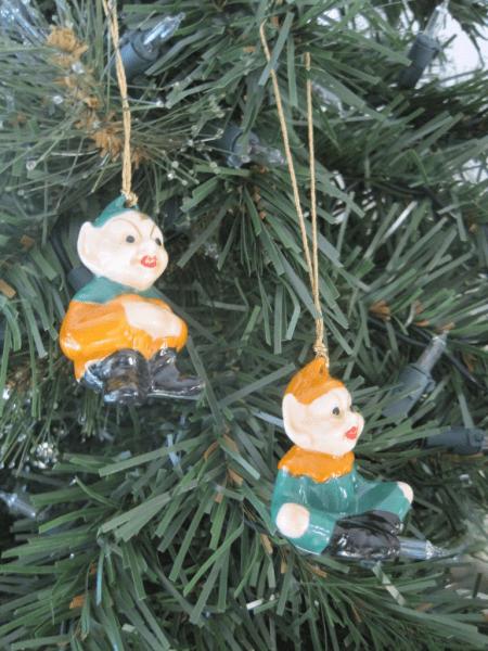 Irish Leprechauns-Christmas ornament