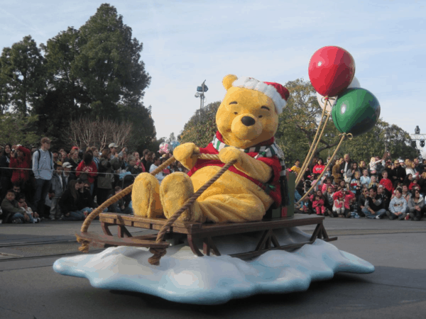 Disneyland Holiday Parade - Pooh