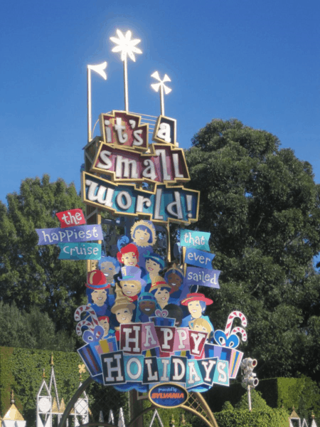 Disneyland California-It's a Small World