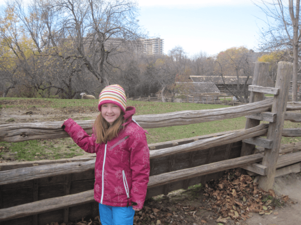 Toronto- enjoying Black Creek Pioneer Village
