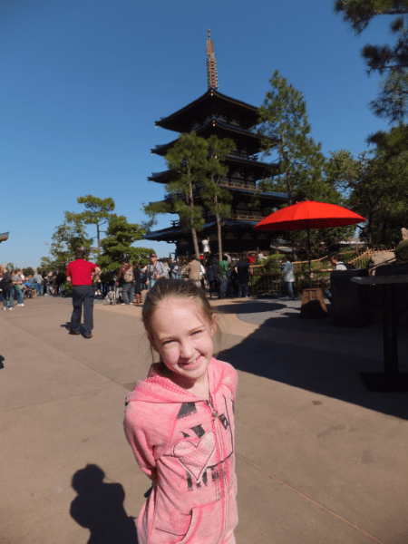 Disney World-EPCOT-in Japan