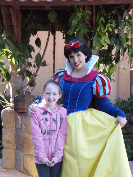 Disney World-EPCOT-Germany-with Snow White