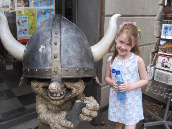 Viking troll in Copenhagen