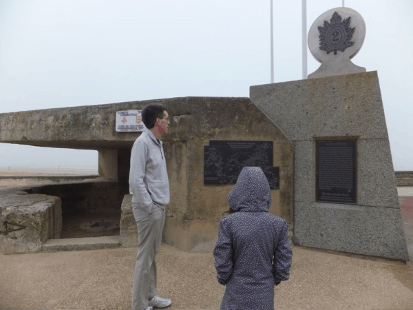 France-Normandy-Monument on Juno Beach