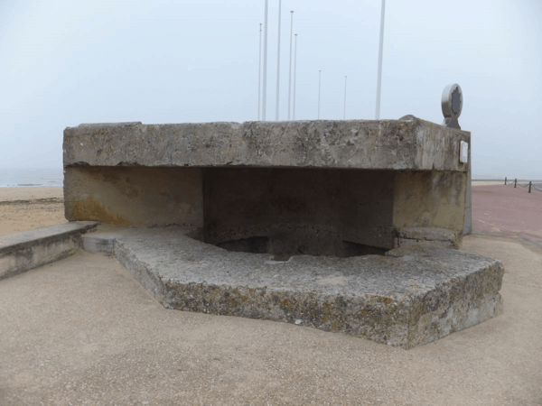 france-normandy-bunker at Juno Beach