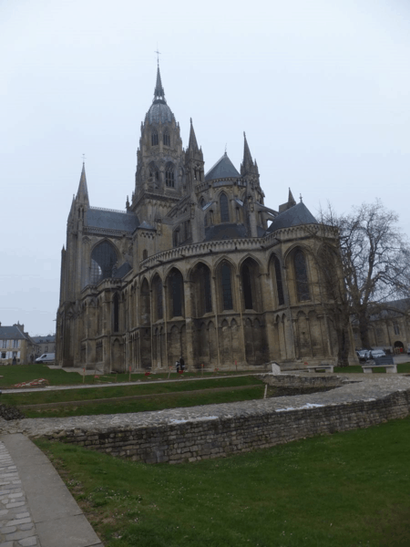 france-bayeux cathedral