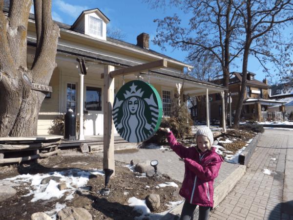 Starbucks in Kleinburg, Ontario