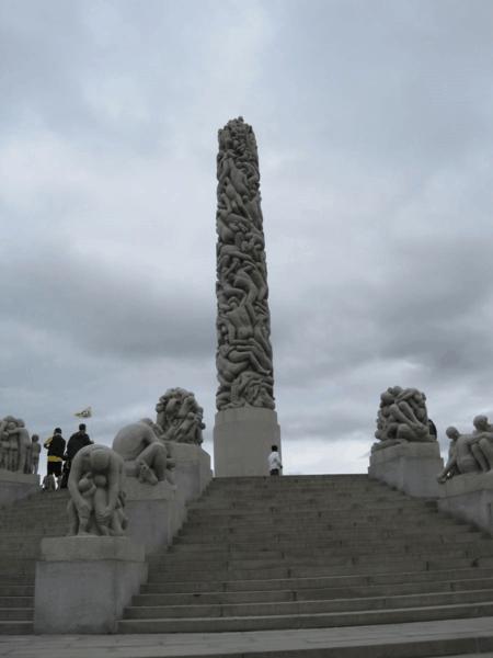 The Monolith-Vigeland Park-Oslo-Norway