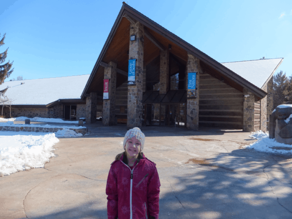outside McMichael Gallery, Ontario, Canada