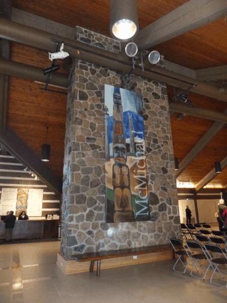 Inside McMichael Gallery, Ontario, Canada