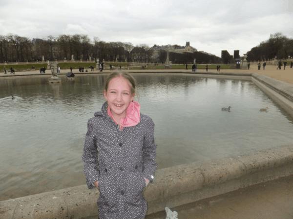 Paris-lake at Luxembourg Gardens