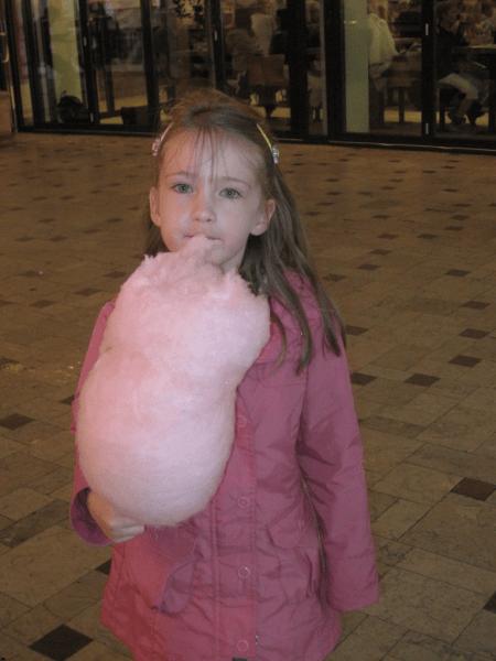 Cotton Candy at Tivoli Gardens