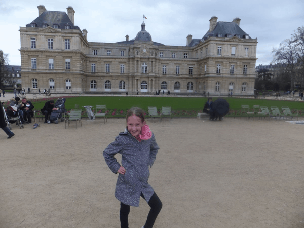 Paris-at Luxembourg Palace
