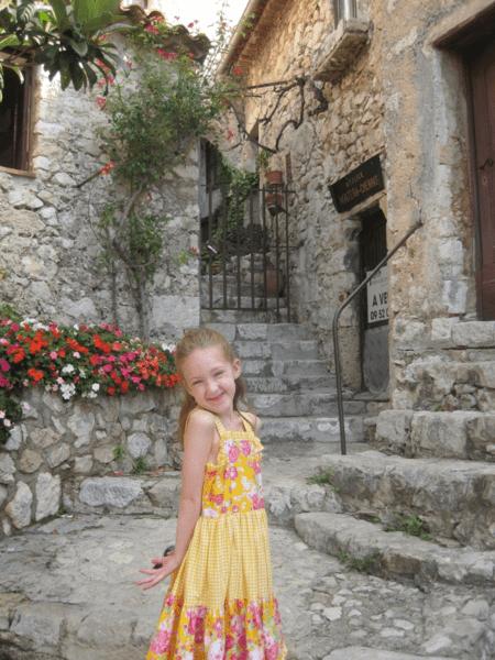 France-girl in Eze