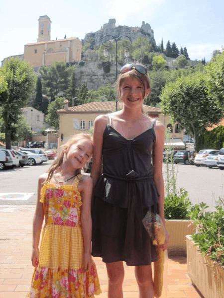 France-girls in Eze