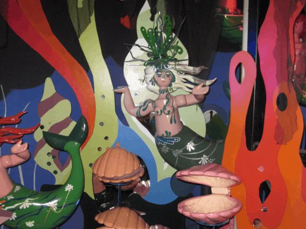 Copenhagen, Tivoli Gardens, Flying Trunk ride