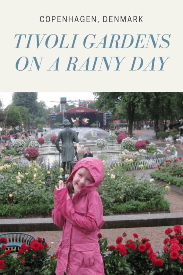 Copenhagen  denmark - Tivoli Gardens on a Rainy Day - Gone with the Family