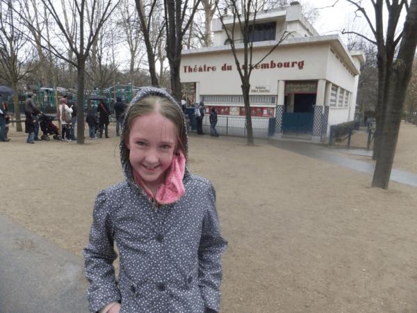 Paris-Luxembourg Gardens-Théâtre de Luxembourg
