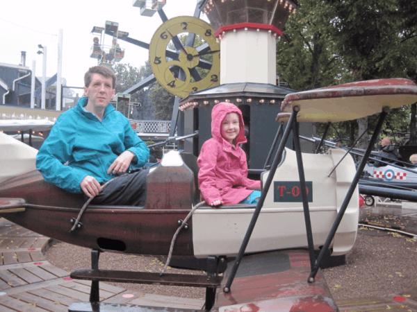 Copenhagen-rides at Tivoli Gardens