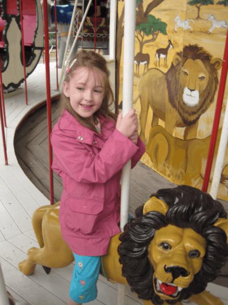 Copenhagen-Tivoli's Carousel