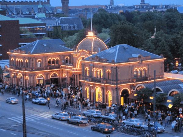 Copenhagen-Tivoli Gardens at Night