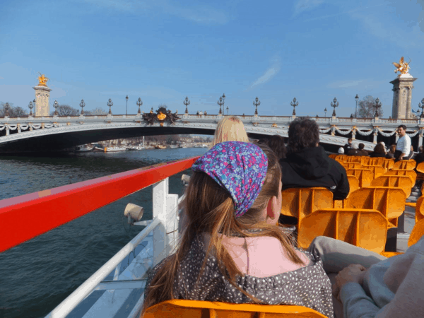 France-Paris-Seine cruise