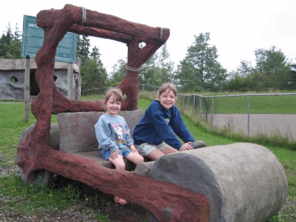 Nova Scotia-Stone Age car in Stewiacke