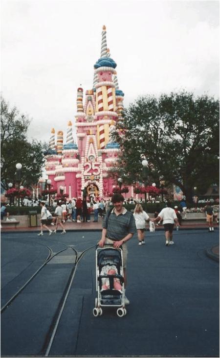 Disney World-Cinderella's Castle - 25th Birthday